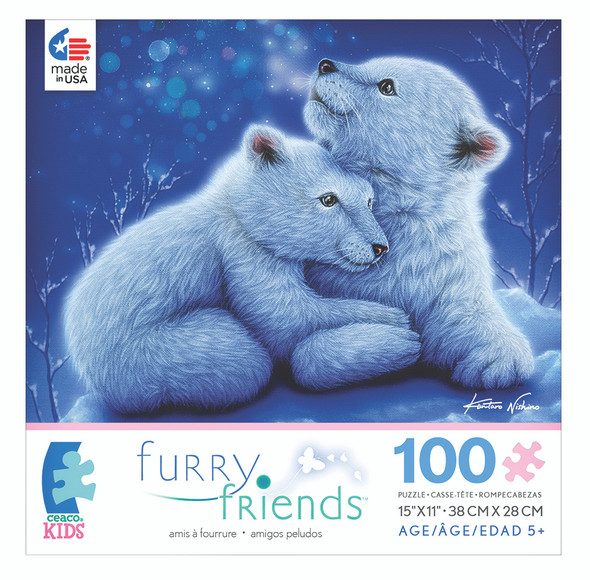 Furry Friends Puzzle Asst. 100 pc
