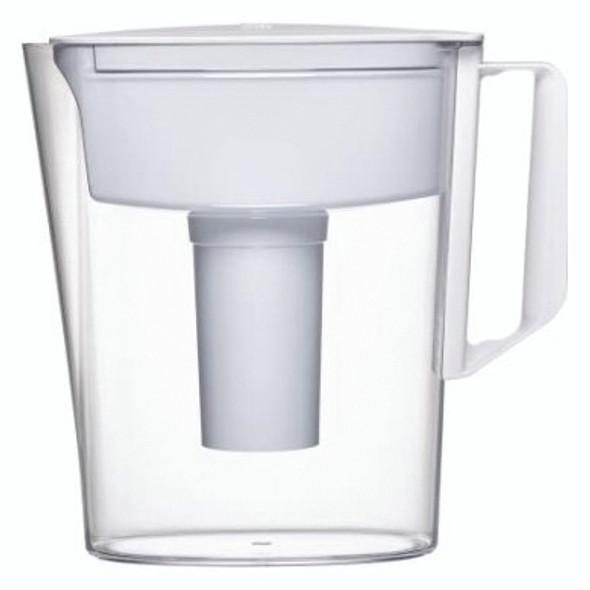 Brita SOHO White 5 Cup Water Pitcher, 11.1 x 9.5 x 4.6, - White