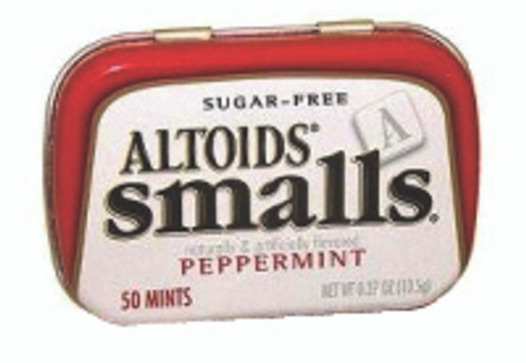 Altoids Smalls Peppermint Breath Mints, .37 oz Tin (Pack of 9)