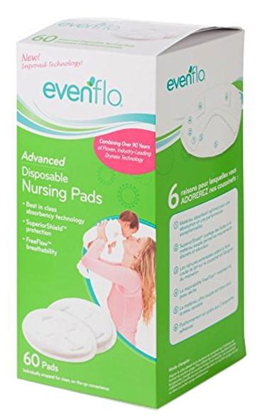Evenflo Advanced Nursing Pads,60 ct