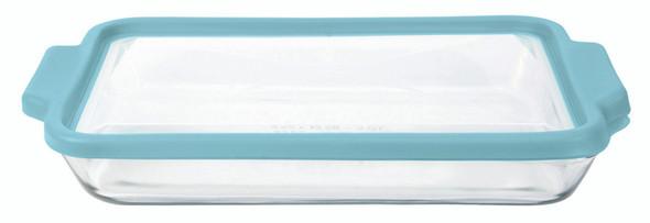Bake Dish W/ TrueFit, Mineral Blue, 3 qt