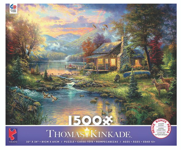Ceaco World's Wildlife Collection 1500 Pc Puzzle (Styles Very)