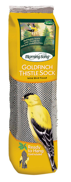 Morning Song Finch Food ThistleSock Pouch 13 oz