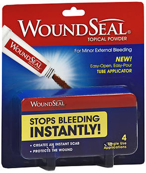 WoundSeal Powder Packets - 4 single use applications