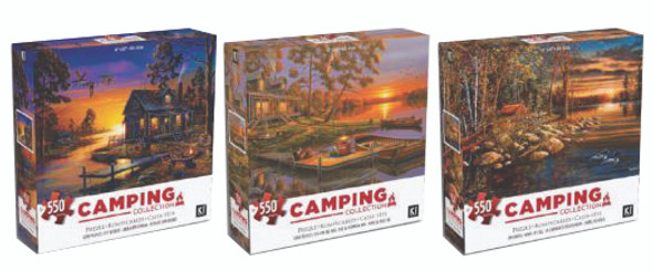 Geno Peoples Camping Puzzle, 550 Pc