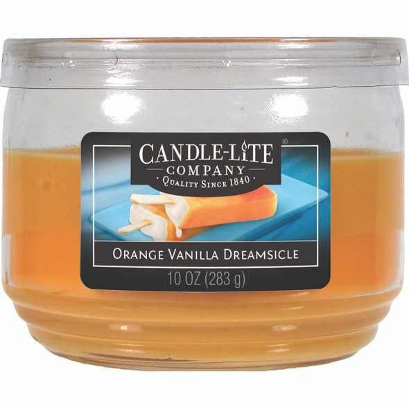 3 Wick Jar Candle Orange Vanilla Dreamsicle 10 oz.