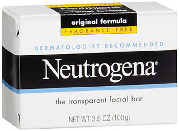 Neutrogena The Transparent Facial Bar Original Formula - 3.5 oz Bar
