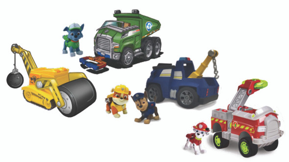 Paw Patrol Basic Vehicle w/ Pup