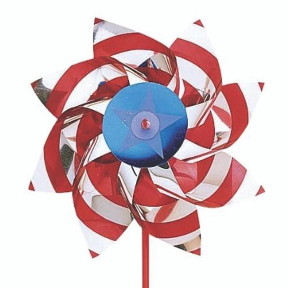 "Patriotic Pinwheel 18"""