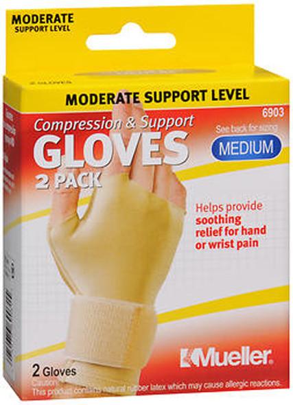 Mueller Compression & Support Gloves Medium 6903