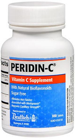 Peridin-C Vitamin C Tablets - 100 ct