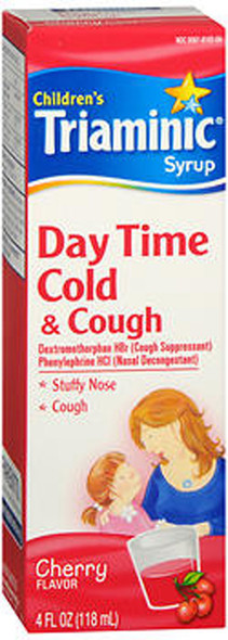 Triaminic Children's, Day Time, Cold & Cough, Syrup Cherry - 4 oz