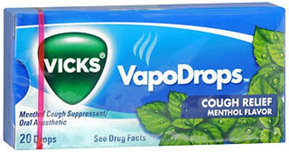 Vicks VapoDrops Cough Relief Drops Menthol - 20 packs of 20