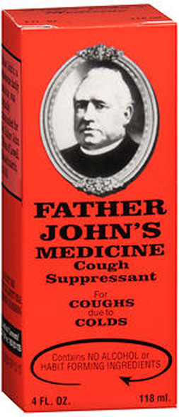 Father John's Medicine Cough Suppressant -  4 oz