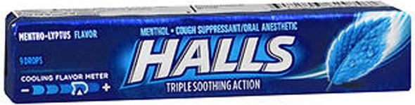 Halls Mentho-Lyptus Drops - 20 packs of 9