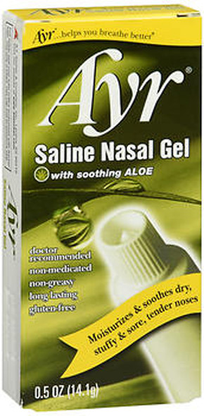 Ayr Saline Nasal Gel with Aloe - 0.5 oz