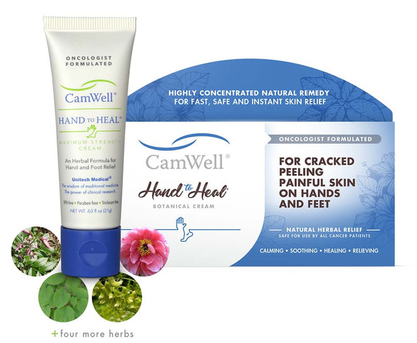 CamWell® Hand to Heal® Cream for Chemo Patients - .63oz