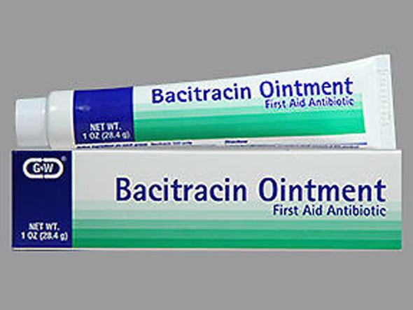 G & W Bacitracin Ointment - 1oz