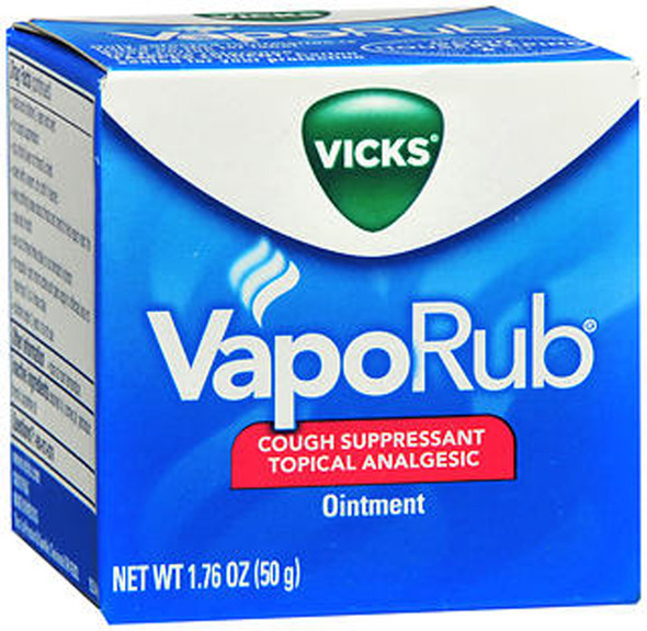 Vicks VapoRub Ointment - 1.7 oz