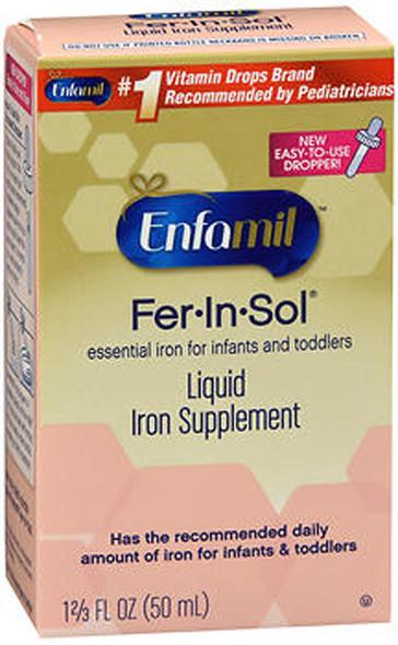 Enfamil Fer-In-Sol Iron Supplement Drops - 1.66 oz