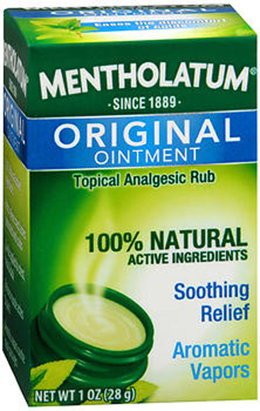Mentholatum Ointment, Topical Analgesic Rub - 1 oz
