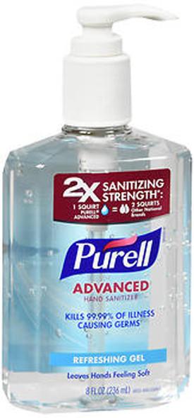 Purell Advanced Hand Sanitizer Refreshing Gel - 8 oz
