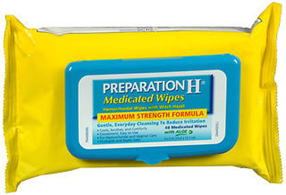 Preparation H Medicated Wipes - 48 ct