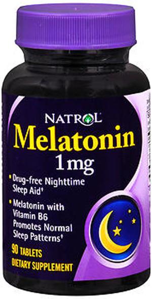 Natrol Melatonin 1 mg - 90 Tablets