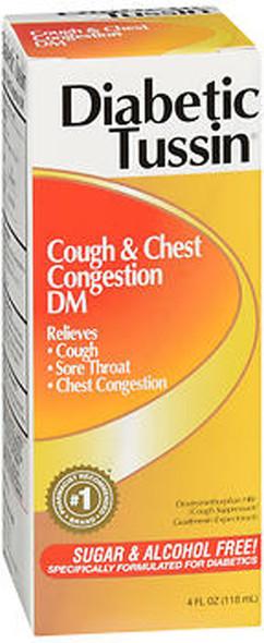 Diabetic Tussin DM Cough Suppressant/Expectorant - 4 oz