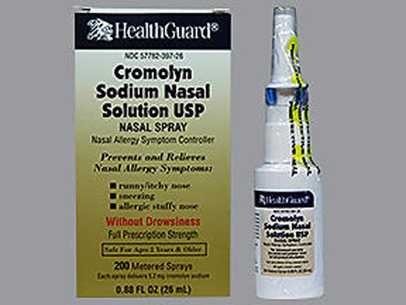 Healthguard Cromolyn Sodium Nasal Solution - .88 oz