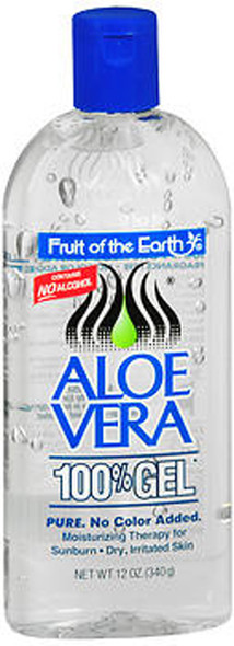 Fruit of the Earth Aloe Vera 100% Gel - 12 oz