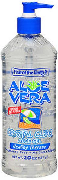 Fruit of the Earth Aloe Vera Crystal Clear - 20 oz