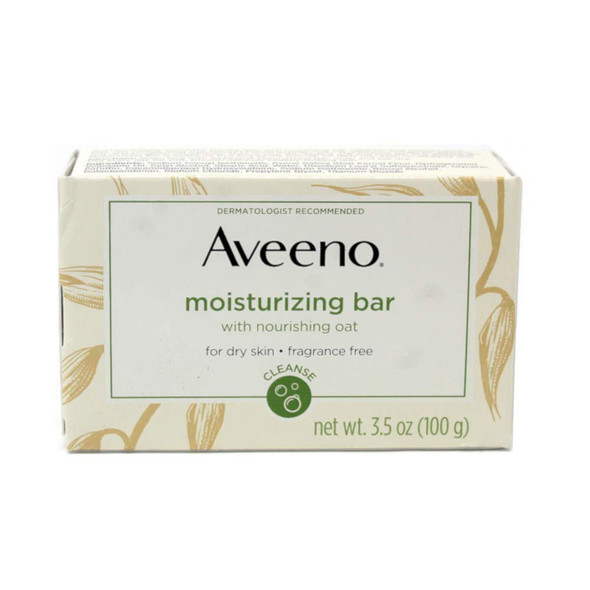 Aveeno Active Naturals Moisturizing Bar Fragrance Free - 3.5 oz