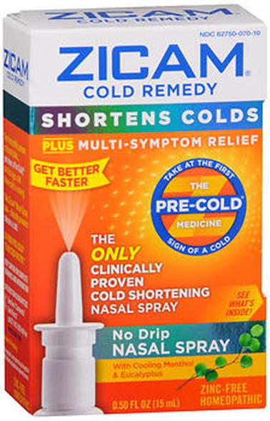 Zicam Cold Remedy No Drip Nasal Spray - 0.5oz