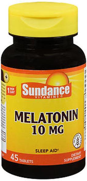 Sundance Vitamins Melatonin 10 mg - 45 Tablets