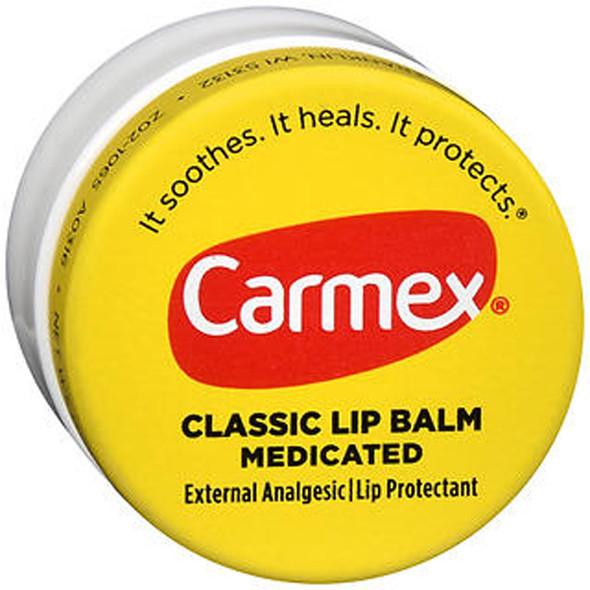 Carmex Original Lip Balm - .25 oz - 12 pack