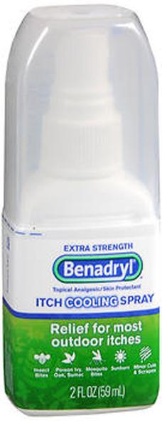 Benadryl Itch Cooling Spray Extra Strength - 2 oz