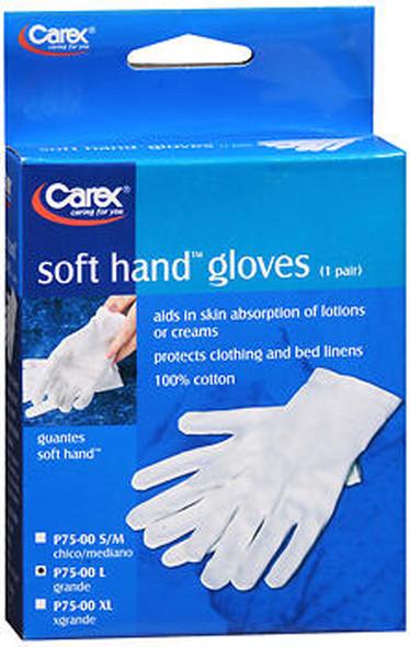 Carex Soft Hand Gloves Large - 1 Pr