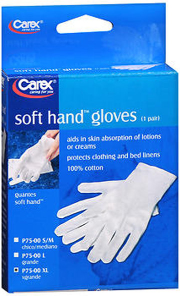 Carex Soft Hand Gloves X-Large - 1 Pr