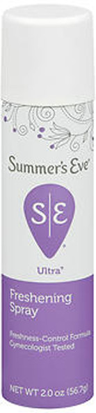 Summer's Eve Feminine Deodorant Spray Ultra Extra Strength - 2 oz