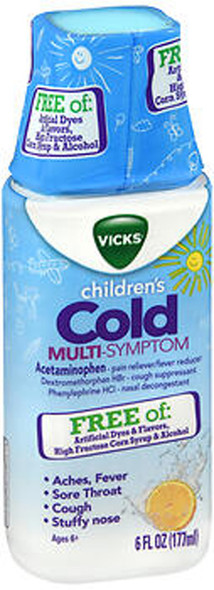 Vicks Children's Cold Multi-Symptom Liquid - 6 oz