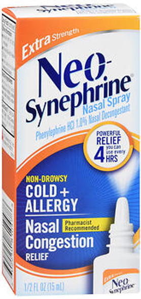 Neo-Synephrine Nasal Spray Extra Strength - 0.5 oz