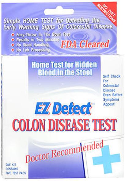EZ Detect Colon Disease Test Kit - 5 Test Pads