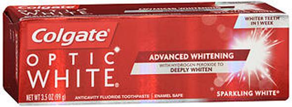 Colgate Optic White Toothpaste Sparkling White - 3.2 oz
