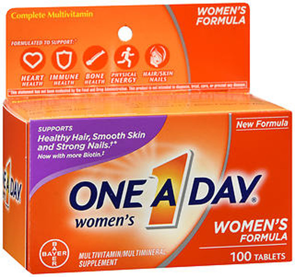 One A Day Women's Formula Multivitamin/Multimineral Supplement Tablets - 100 ct