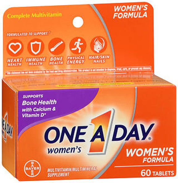 One A Day Women's Formula Multivitamin/Multimineral Supplement Tablets - 60 ct