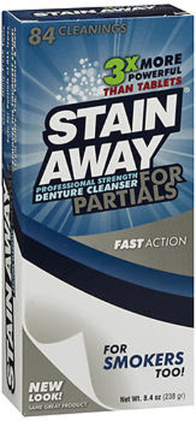 Stain Away Cleanser For Partials - 8.4 oz