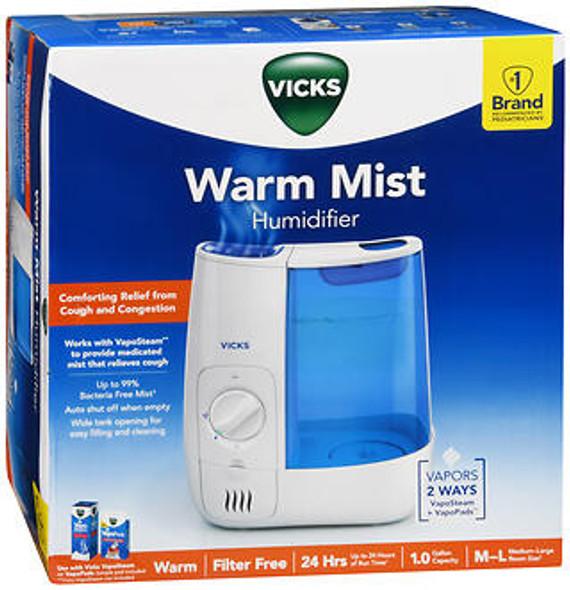 Vicks WarmMist Humidifier VWM845
