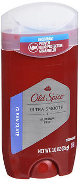 Old Spice Ultra Smooth Deodorant Clean Slate - 3 oz