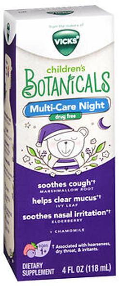 Vicks Children's Botanicals Multi-Care Night Liquid - 4 oz